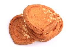 Cookies heart Stock Image