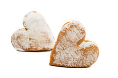 Cookies heart Royalty Free Stock Images