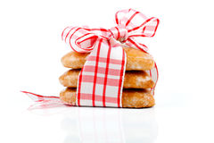 Cookies-hearts Royalty Free Stock Images