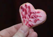Cookies hearts love. Stock Photo