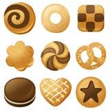 Cookies vector illustration