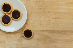 Cookie for Coffee Break Background Stock Images