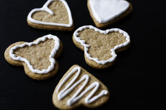 Cookies with icing Stock Images