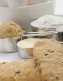 Cookies with ingredients Stock Photography