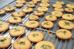 Cookies on the Iron stand Stock Photos