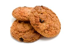 Cookies isolated Stock Photos