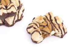 Cookies  isolated. On white background Royalty Free Stock Photos