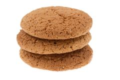 Cookies on  isolated Royalty Free Stock Photo