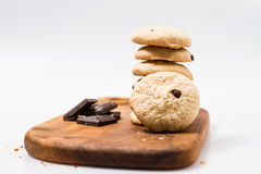 Cookies isolated Stock Photography