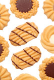 Cookies. Isolated on white background Royalty Free Stock Image