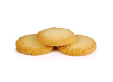 Cookies isolated on white background Royalty Free Stock Images