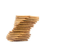 Cookies isolated on a white background Royalty Free Stock Images