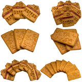 Cookies isolated on a white background. Stock Images