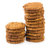 Cookies isolated on white background Royalty Free Stock Image