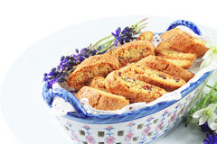 Cookies italian cantuccini Royalty Free Stock Photography