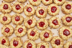 Cookies with jam Stock Images