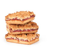 Cookies with jam Stock Photos
