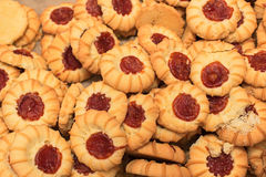 Cookies with jam Stock Photography