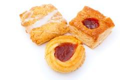 Cookies with jam Stock Photos