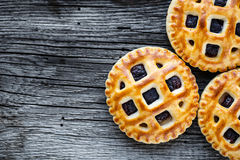 Cookies with jam Royalty Free Stock Images