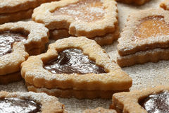 Cookies with Jam V Stock Images