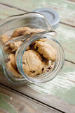 Cookies in a jar Royalty Free Stock Photo