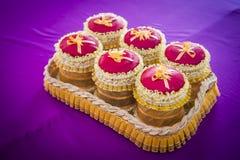 Cookies in jar Stock Images