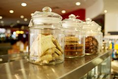 Cookies in Jars Stock Image