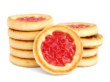 Cookies with jelly Royalty Free Stock Image