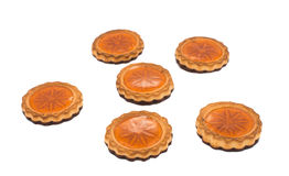 Cookies with jelly Stock Image