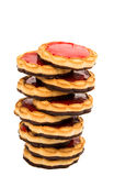 Cookies with jelly Royalty Free Stock Images