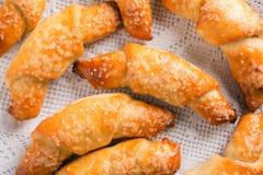 Cookies judaicas tradicionais de Rugelach fotografia de stock
