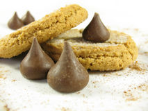 Cookies and kisses royalty free stock images