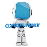 Cookies Law Concept. Stock Photo