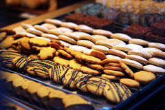 Cookies in the local store, Royalty Free Stock Photo