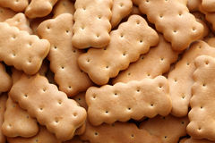 Cookies. Lot of cookies close-up Royalty Free Stock Images