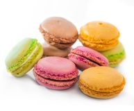 Cookies macaroon Stock Images