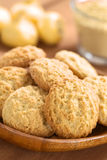 Cookies Made with Maca Flour stock photos
