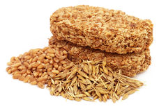 Cookies made of oat and wheat Royalty Free Stock Photography