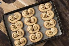 Cookies mais palmier Imagem de Stock
