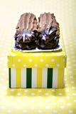 Cookies and meringue Stock Image