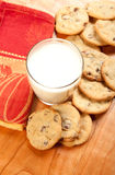 Cookies and Milk Stock Image
