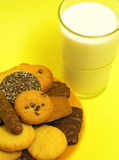 Cookies and milk Royalty Free Stock Image