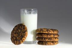 Cookies with milk Stock Photo