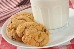 Cookies and milk Stock Photography