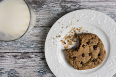 Cookies and Milk Royalty Free Stock Photo