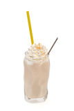 Cookies milkshake isolated Royalty Free Stock Photo