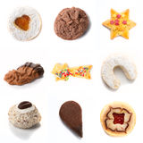 Cookies mix Stock Photos