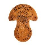 Cookies na forma de um cogumelo Fotografia de Stock Royalty Free