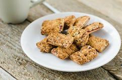 Cookies no Foto de Stock